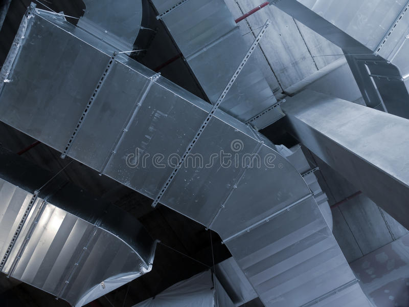 Download AC pipes stock photo. Image of piping, conditioning, steel - 10362408