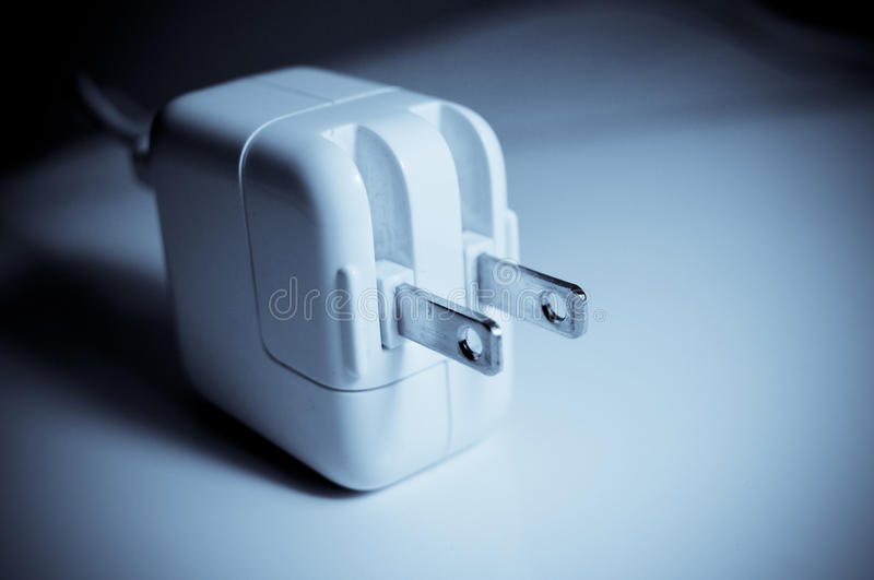 AC power adapter royalty free stock photos