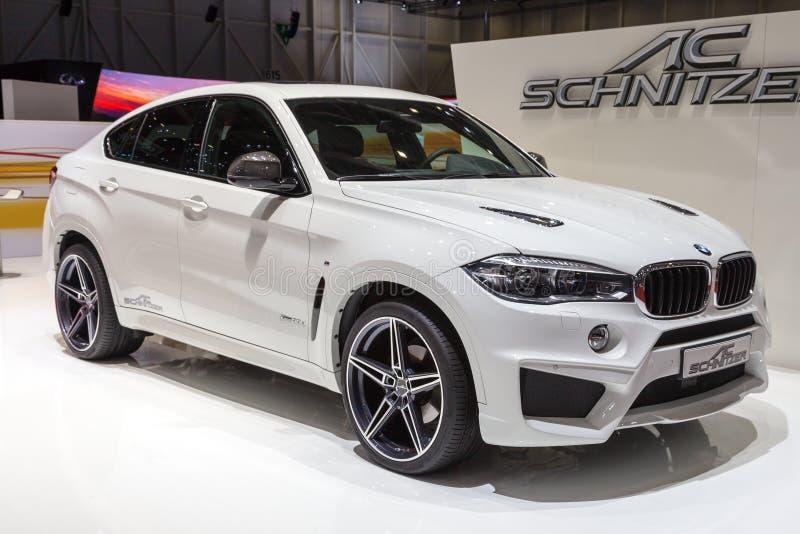 2015 AC Schnitzer BMW X6 (F15) stock photo