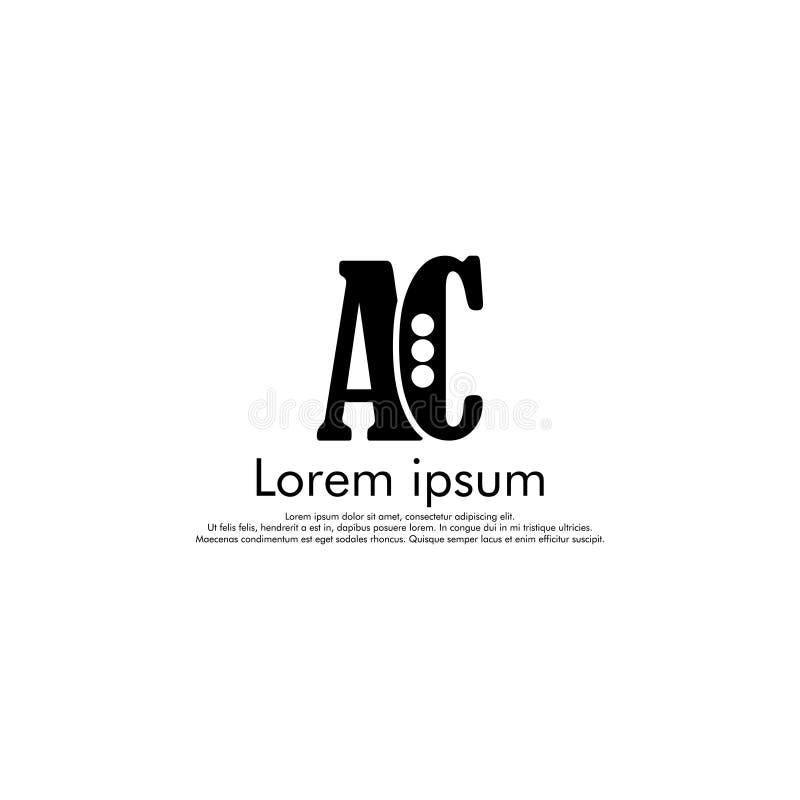 AC Vector initial abstract logo. Concept for your company stock photos