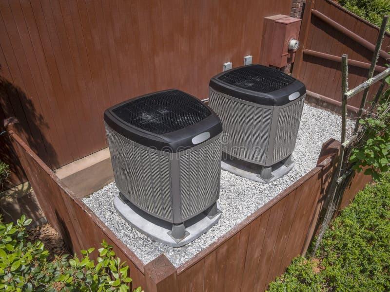 AC-verwarmer eenheid stock afbeelding
