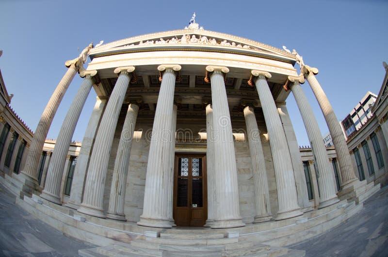 Download Académie d'Athènes photo stock. Image du architecture - 87705940