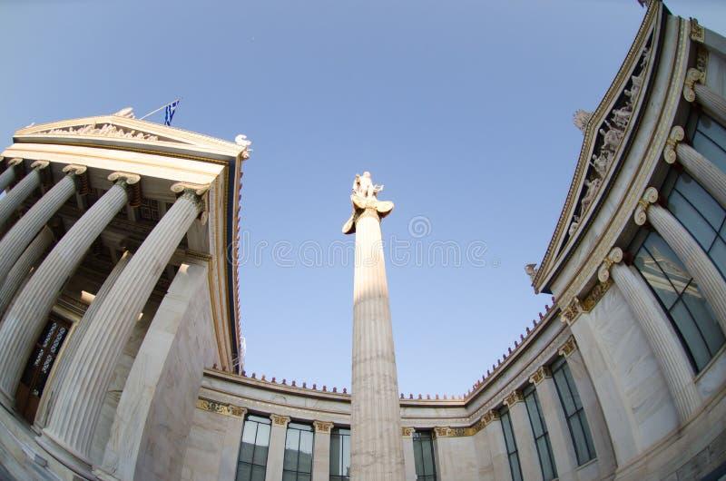 Download Académie d'Athènes photo stock. Image du hellénique, europe - 87705996