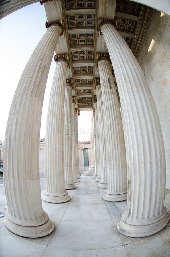 Download Académie d'Athènes photo stock. Image du antique, monument - 87706016