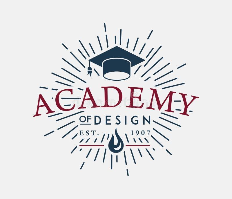 Académie de conception illustration de vecteur