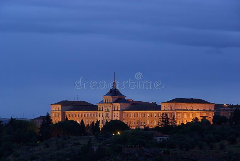 Academia 01 de Toledo foto de stock royalty free