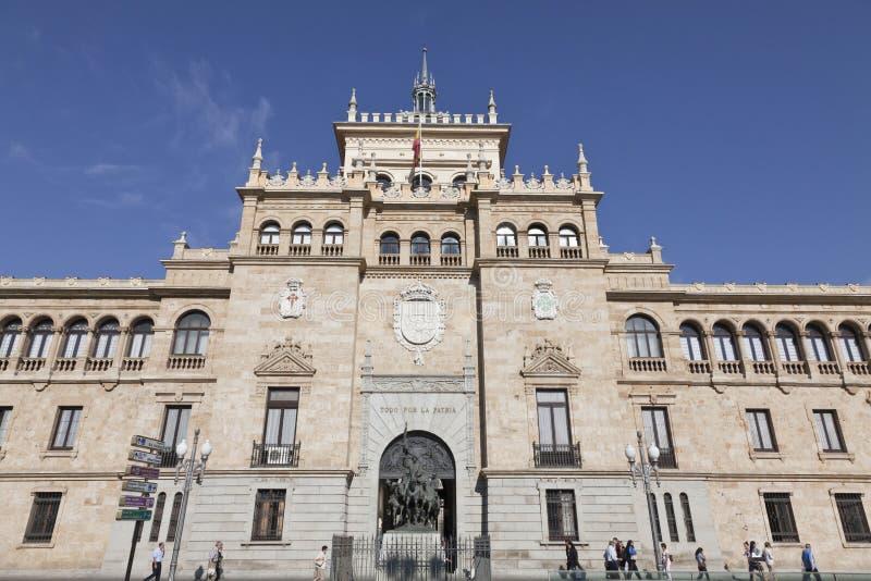Academia da cavalaria de Valladolid imagens de stock