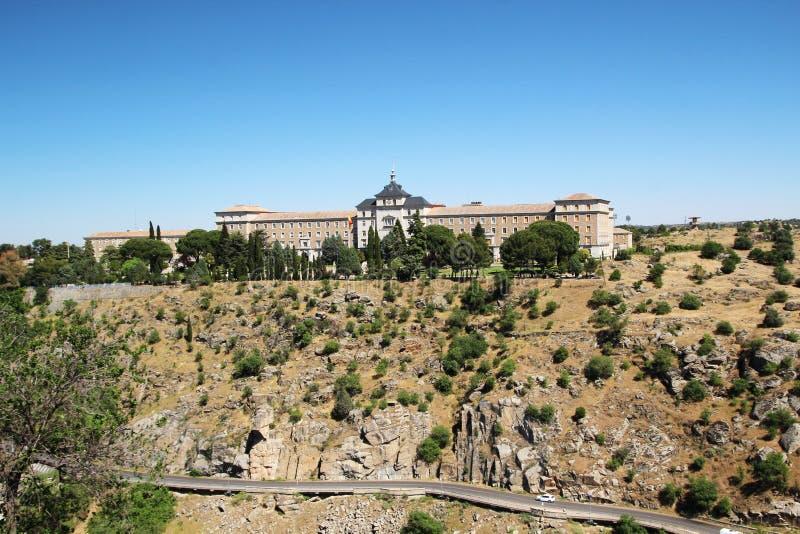 A academia da infantaria, Toledo, Espanha fotos de stock royalty free