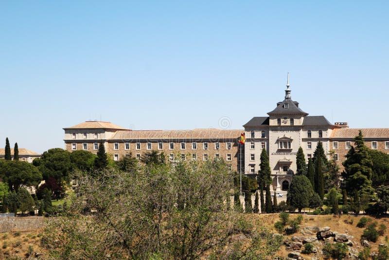 A academia da infantaria, Toledo, Espanha imagens de stock royalty free