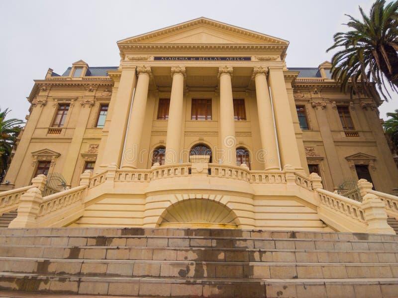 Academia de Bellas Artes. Academy of Bellas Artes - Santiago de Chile - America stock images