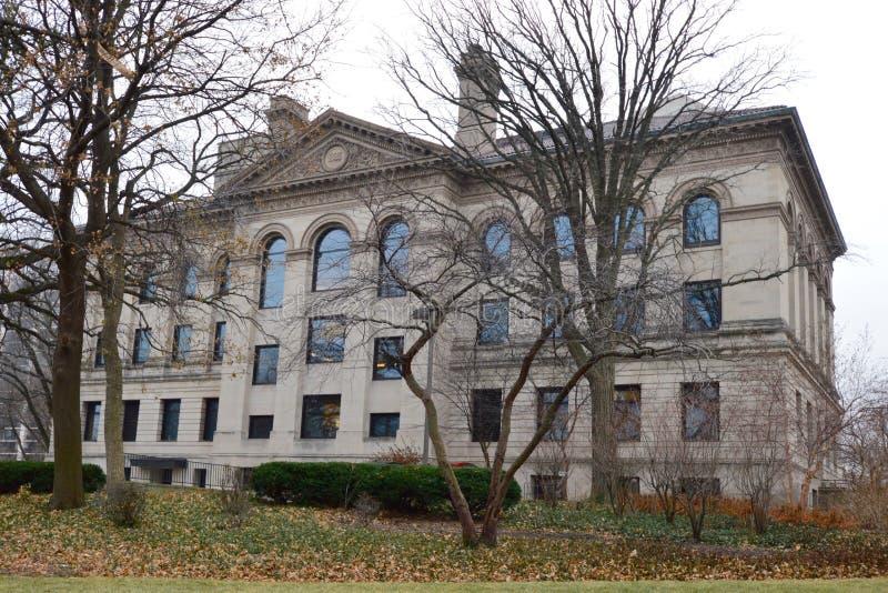 Academia de Chicago de ciências fotografia de stock