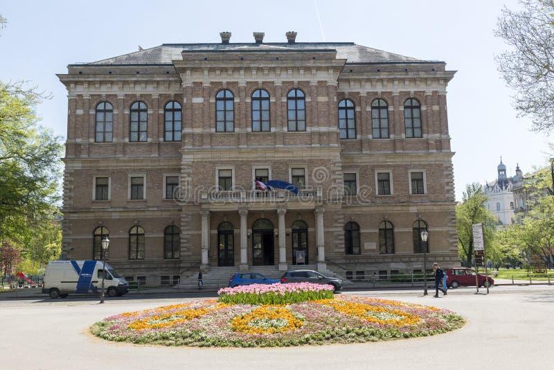 A academia de ciências croata e de artes fotos de stock royalty free