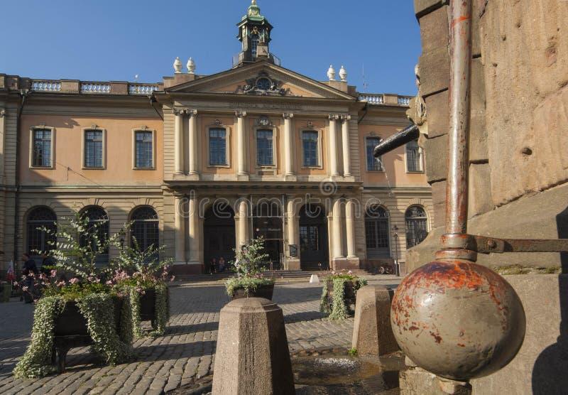 Academia de Svenska imagenes de archivo