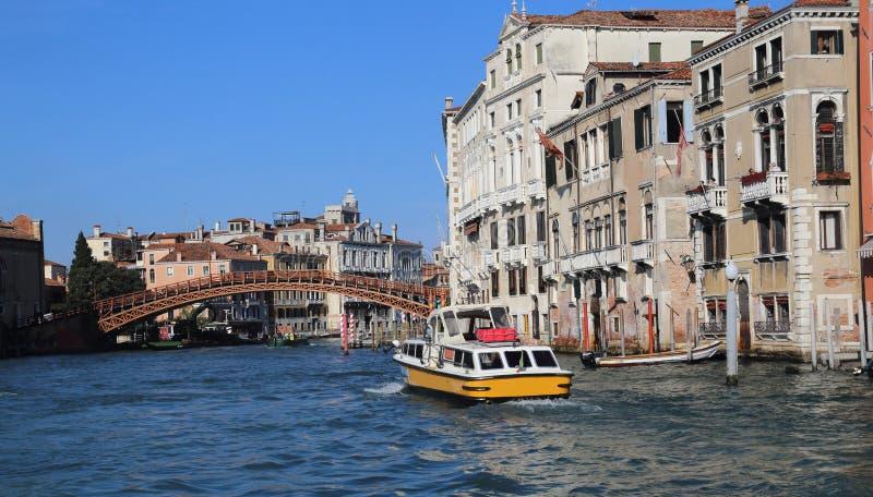 Academia do dell de Ponte em Veneza, Itália imagem de stock royalty free