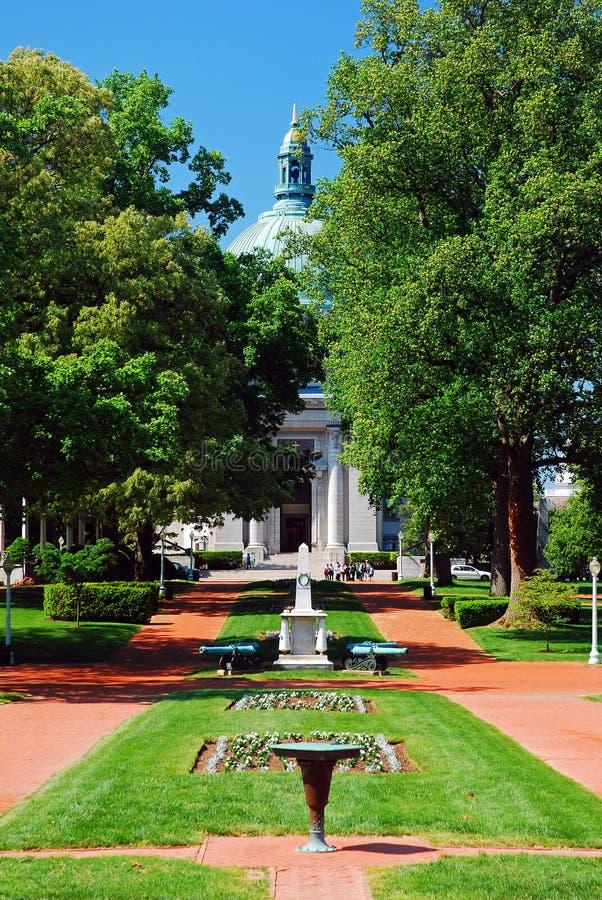 Academia Naval Annapolis de los E.E.U.U. fotografía de archivo