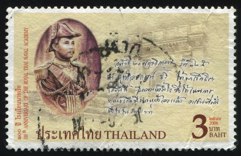 Academia Naval tailandesa real imagem de stock royalty free