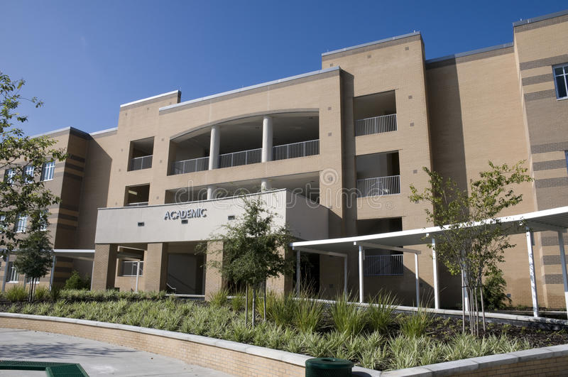 Download Academic Building At New Middle School Stock Image - Image: 15766091