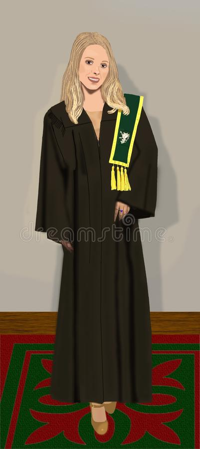 Academic Dress, Clothing, Robe, Outerwear royalty free stock photography