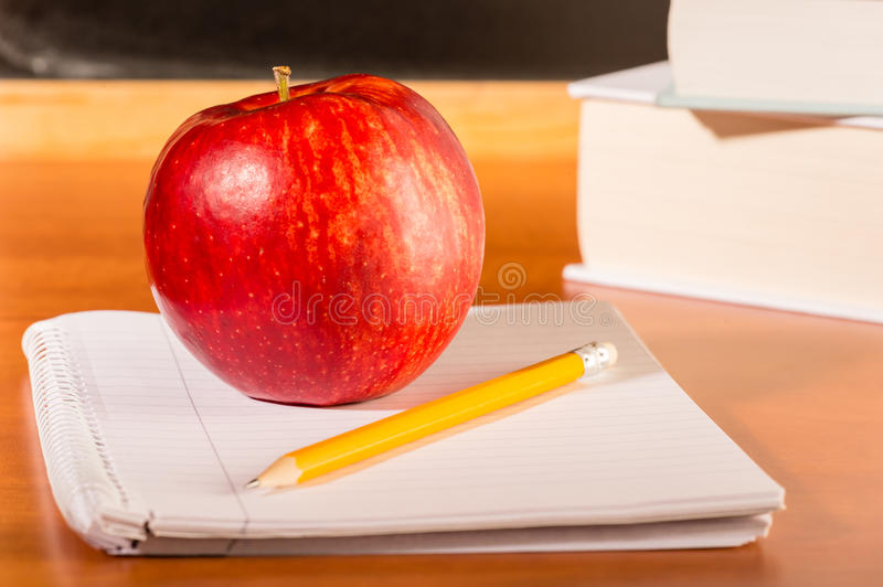 Download Academic Education Traditional Student's Desk Stock Photo - Image: 27156528