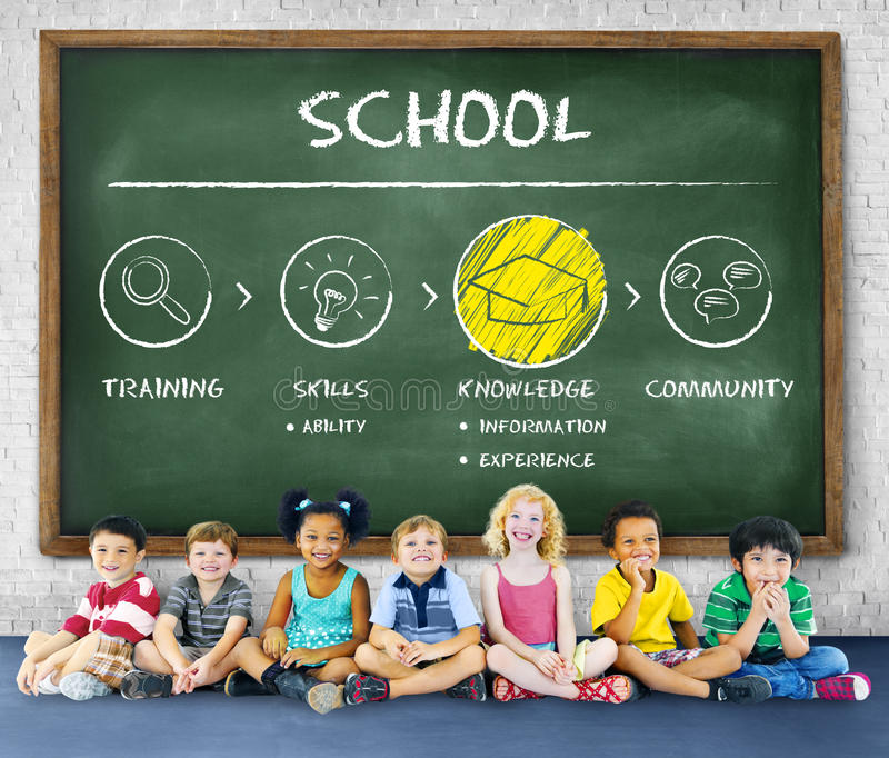 Academic School College University Education Concept royalty free stock images