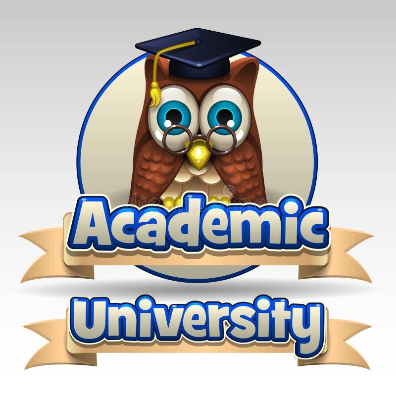 Academic university icon. Illustration of academic university icon vector illustration