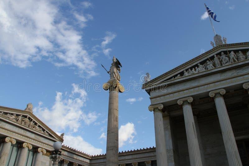Download Academie Van Kunst, Nationale Bibliotheek, Bank Van Griekenland, Athene, Greec Stock Afbeelding - Afbeelding bestaande uit bank, romein: 107700469