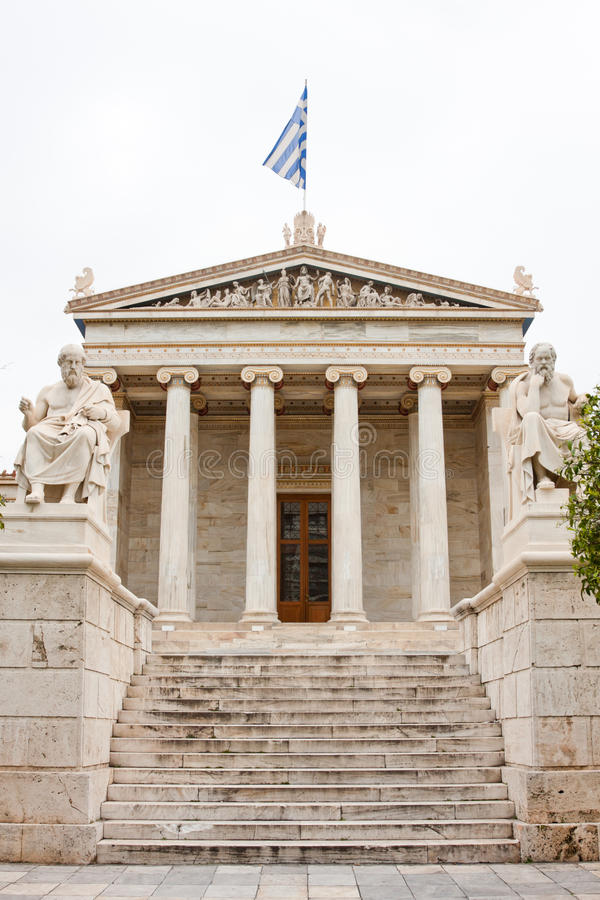 Download The Academy of Athens stock photo. Image of travel, stair - 14861952