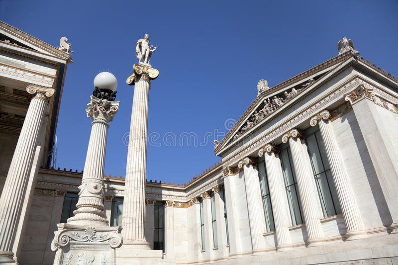 The Academy Of Athens Stock Photography