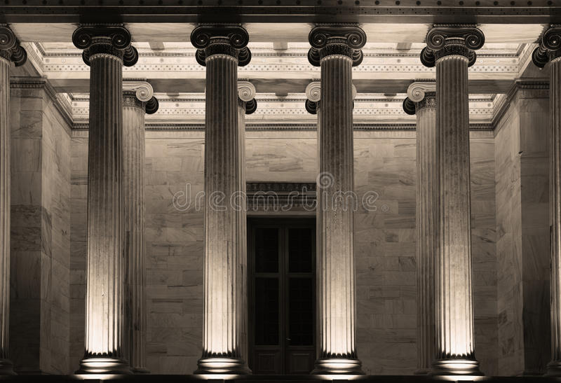 The Academy of Athens. Greece stock images