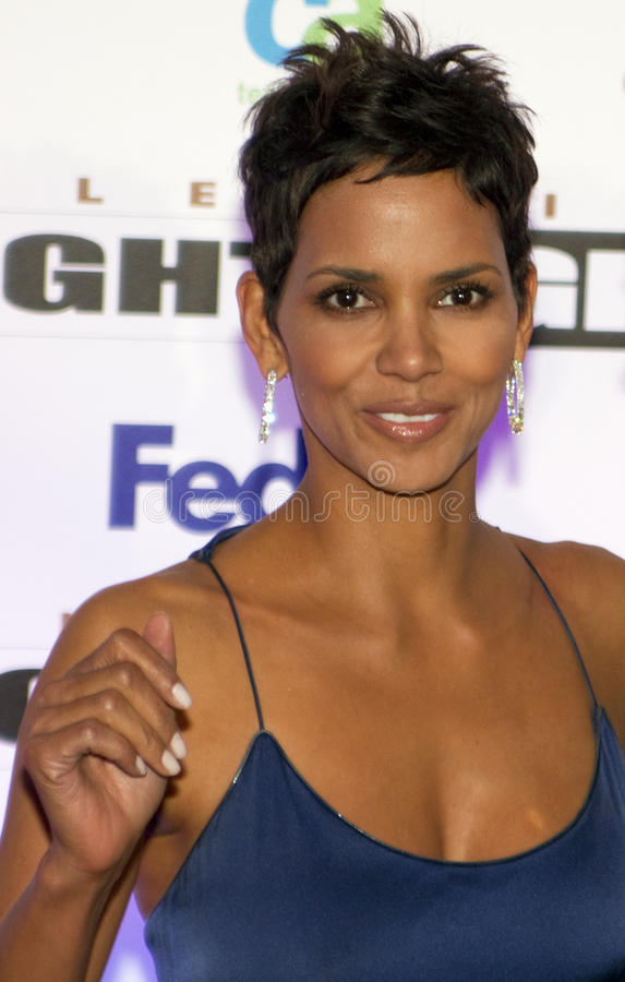 Academy Award Winning Actress Halle Berry stock photos