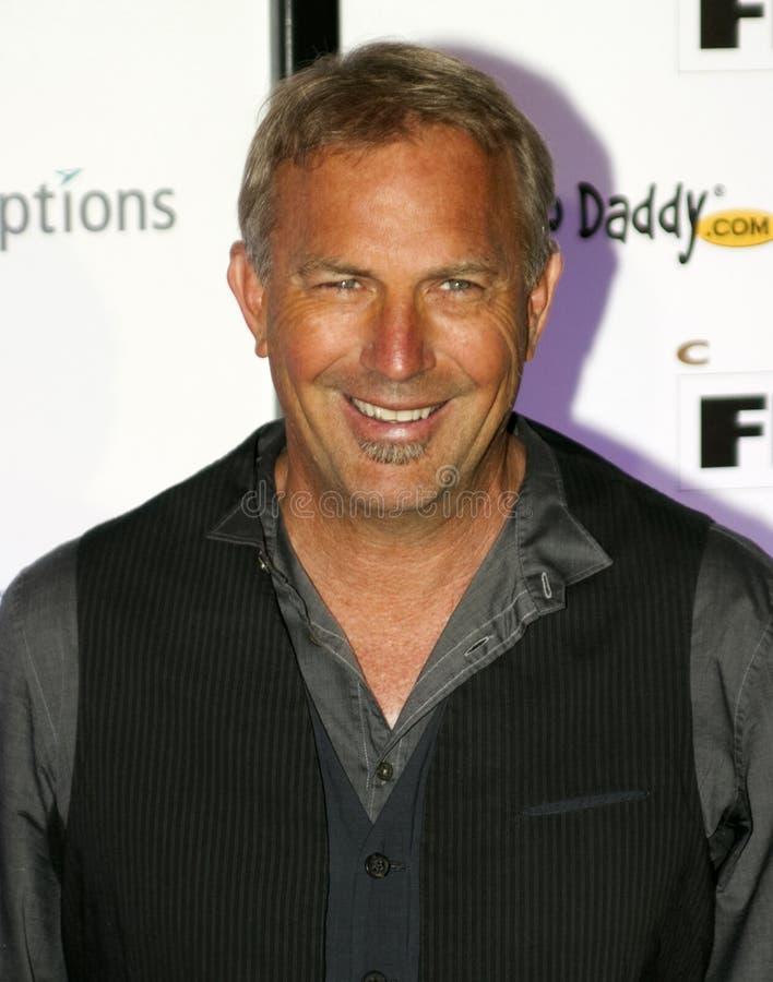 Academy Award Winning Director Actor Kevin Costner royalty free stock photos