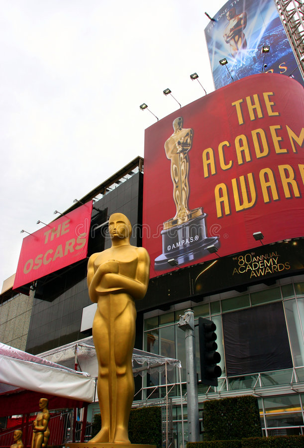 academy awards oscar στοκ φωτογραφία με δικαίωμα ελεύθερης χρήσης