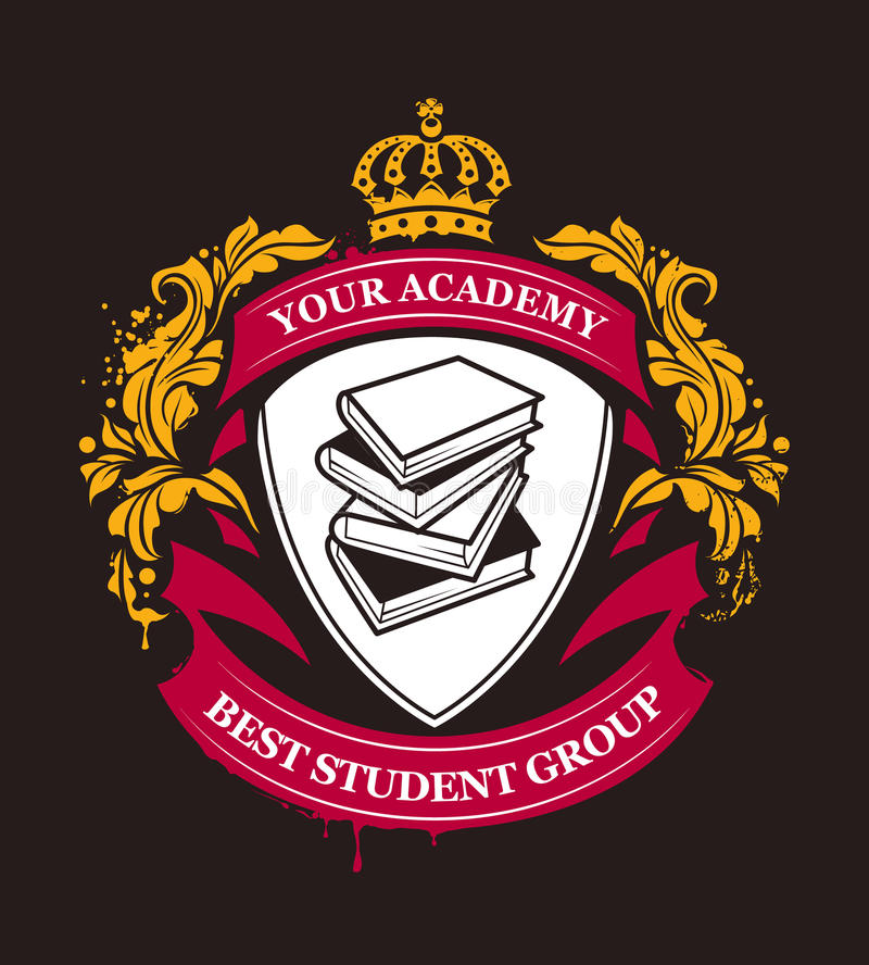 Free Academy Emblem Vector Stock Images - 51775344