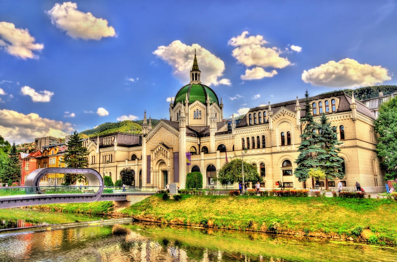 The Academy of Fine Arts in Sarajevo royalty free stock photo