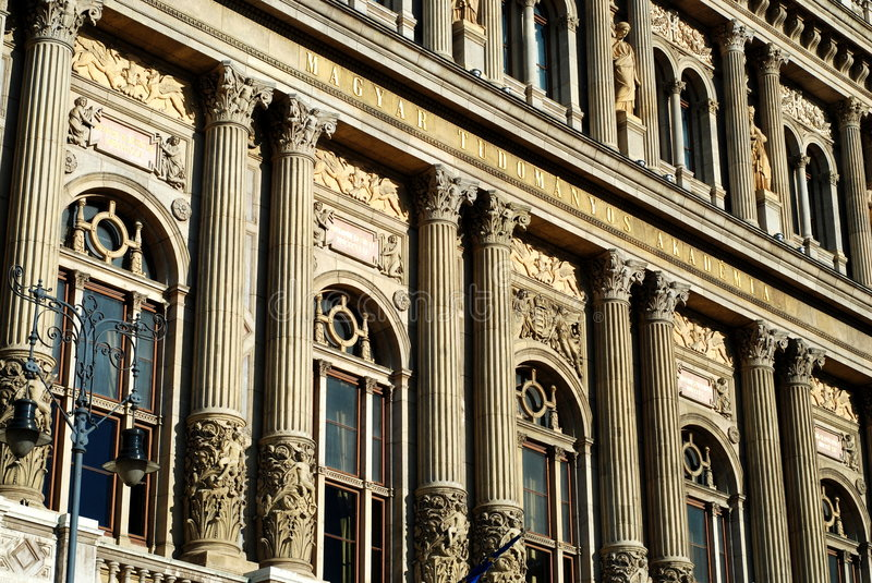 Download Academy of Sciences stock photo. Image of windows, hungarian - 8935240
