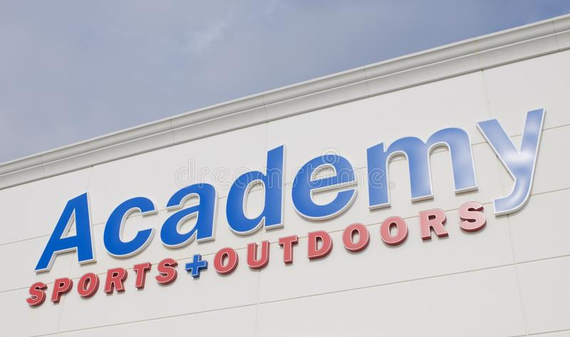 Academy Sports and Outdoors Sign royalty free stock photos