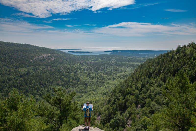 acadia Maine park narodowy usa obrazy stock