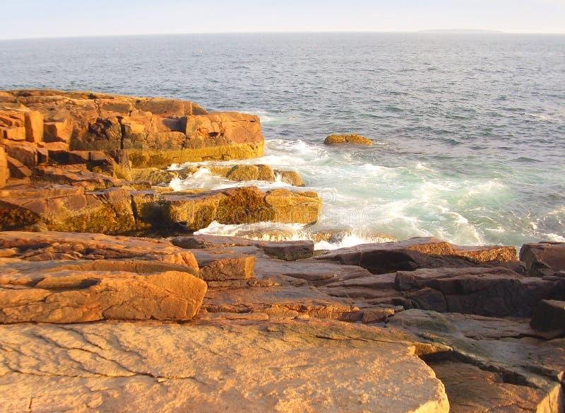 Acadia National Park seacoast stock photos