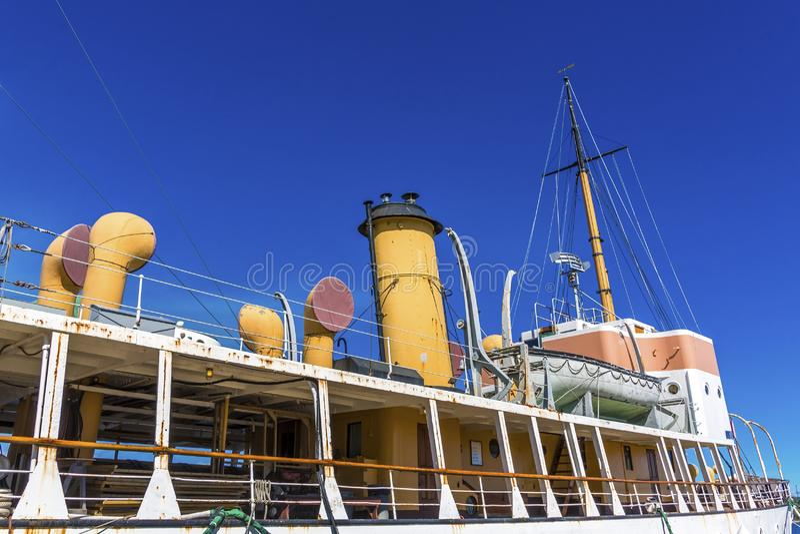 Acadia-ozeanographisches Schiff in Halifax lizenzfreies stockfoto