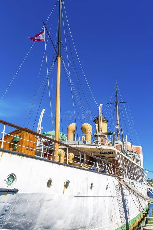 Acadia-ozeanographisches Schiff in Halifax stockfotografie