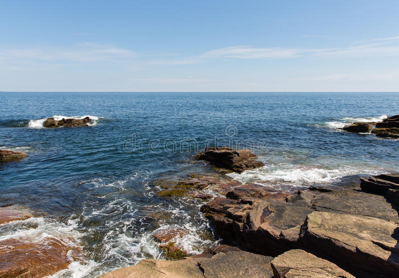 Download Acadia Shores stock photo. Image of shoreline, park, peaceful - 33136864