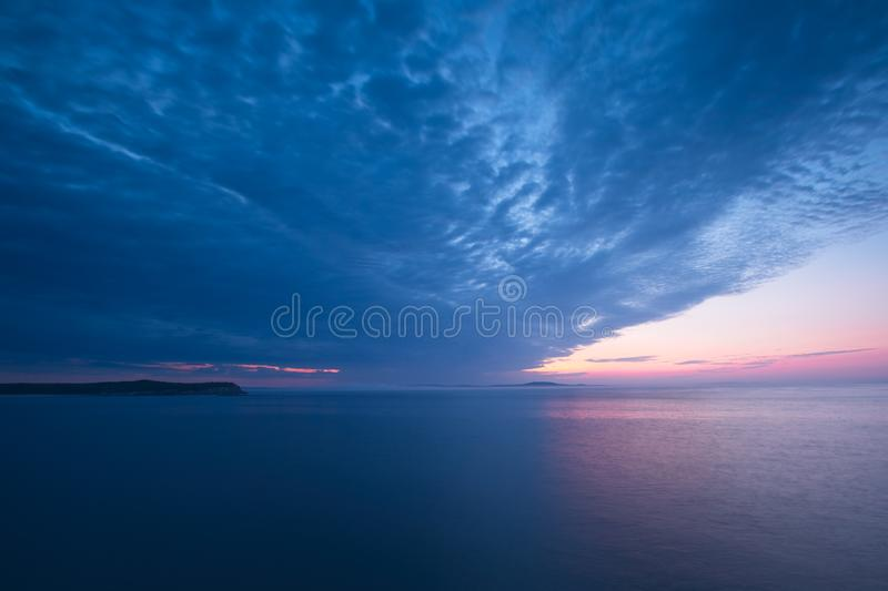 Acadian Sunrise number 2 royalty free stock photos