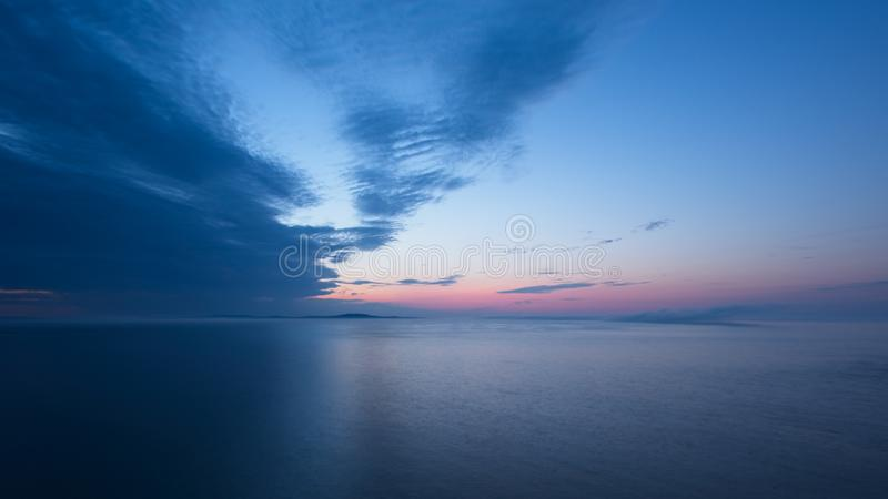 Acadian Sunrise number 1 royalty free stock photography