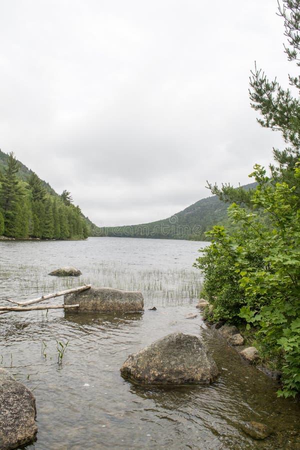 Acadianationalpark i Maine royaltyfria foton