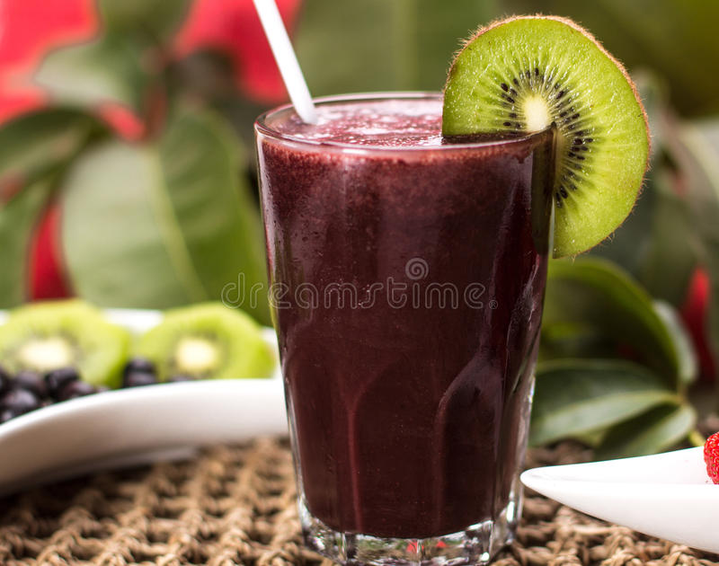 Acai Juice stock photo