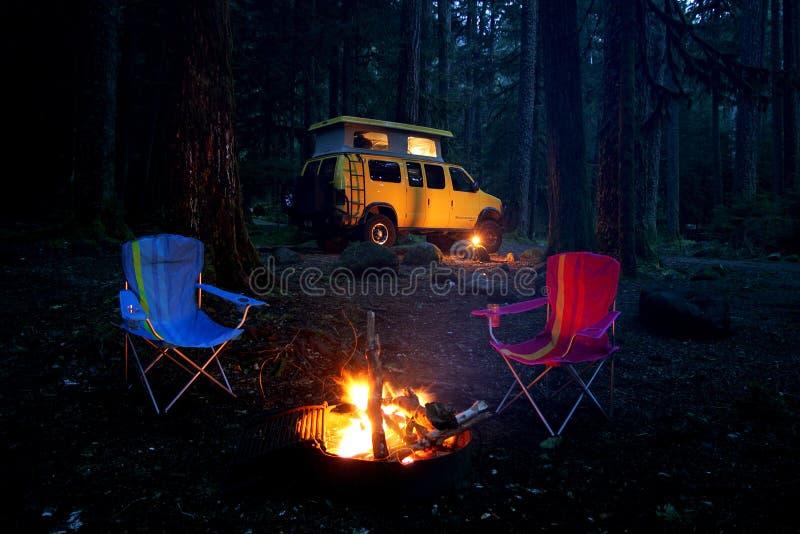 Acampamento imagens de stock royalty free