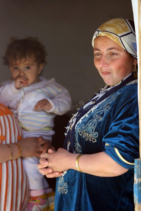 Acampamento de refugiado de Mahmur imagens de stock royalty free