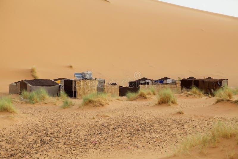 Acampamento do deserto imagem de stock royalty free