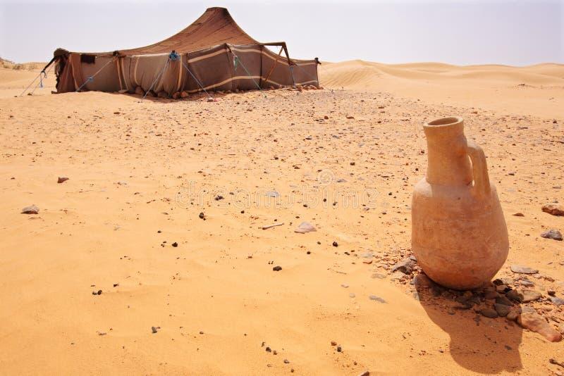 Acampamento do deserto fotos de stock royalty free