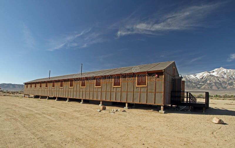 Acampamento do internamento de Manzanar fotos de stock